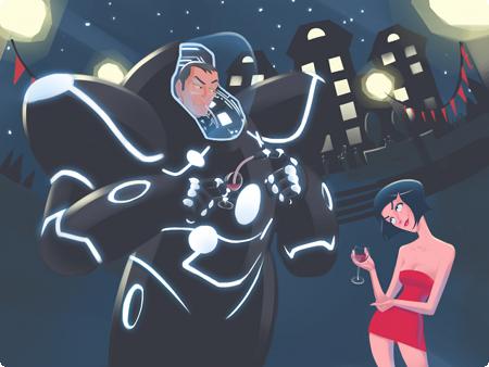 Power Armor: A Love Story Art Illustration David Barr Kirtley Blake Reynolds